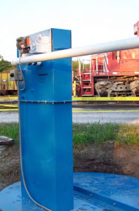 Oil Skimmer System 6Vh for the Railroad Industry